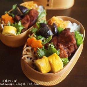 8月19日 レンチン味噌カツ弁当