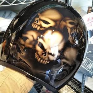 イージーオーダーいただいたヘルメットたち(^^♪  ㉗