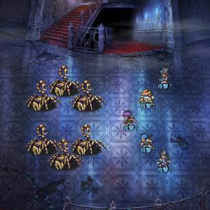 ロマサガRS 古城の祝祭と最終試練おすすめクエストUH9を2ターン高速周回中 誇張無しの正直な現実的立ち回りを載せています【パーティ・陣形・戦闘力・動き解説】