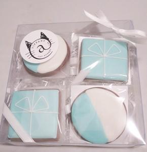 ティファニーカフェのクッキー♪