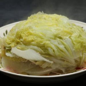 豚肉と白菜のミルフィーユをどでかく作ってみた