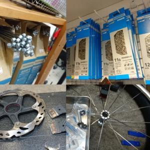 自転車はパーツの集合体です