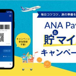 ANAは、「ANA Pay」の利用で、最大3,500マイルがもらえるキャンペーンを開催!