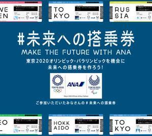 ANAは、#未来への搭乗券ツイートで、HELLO 2020 JETモデルプレーンなどが当たるキャンペーンを開催!