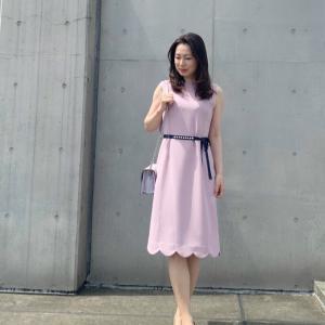 デート服に❤︎上品スカラップワンピース