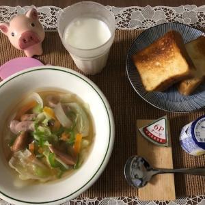 【朝御飯】質素倹約、自炊
