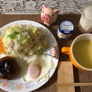 【朝御飯】質素倹約、自炊生活
