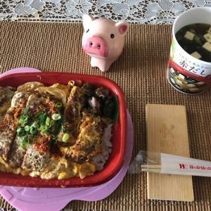 【昼御飯】カツ丼