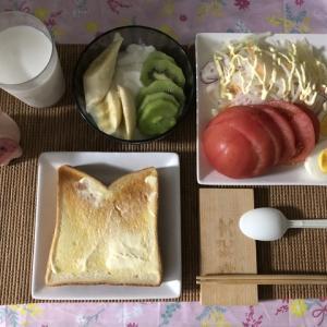 【朝御飯】質素倹約・自炊生活