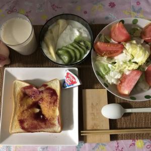 【朝御飯】4枚切りトーストはおデブの元凶