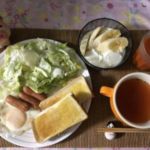 【朝御飯】貧乏人は質素倹約・自炊生活です!