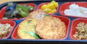 浜松市内日替弁当をお届け。企業・学校・一般家庭・期間限定でも対応。浜松ご当地コロッケ「うなぎもんじゃのコロッケ」