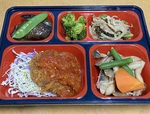 令和3年1月6日(水) 栄養バランス弁当「からだデリ」の画像 浜松市内で配送いたします