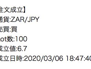 ランド6.8円で買った俺。甘かった。(FX/ランド)