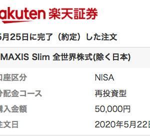 投資信託・近況報告(eMAXIS Slimシリーズ)