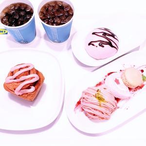 IKEAレストラン ♡ 桜フェア① ♡ カワイイカワイイピンクピンク♡♡♡