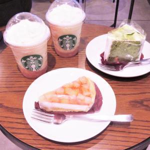 STARBUCKS COFFEE ♡ ピーチオンザビーチフラペチーノ MORE♡♡♡