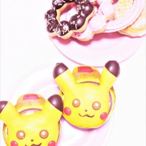 ミスド ♡ ポケモンドーナツ ♡ ピカチュウドーナツ♡♡♡