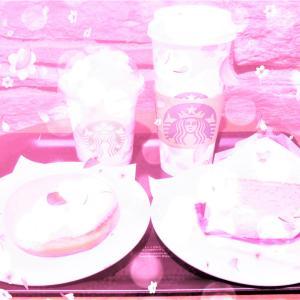 STARBUCKS COFFEE ♡ SAKURA SAKURA FINAL♡♡♡