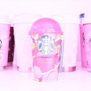 STARBUCK ♡ ピーチピンクフルーツwith ピーチジェリー♡♡♡