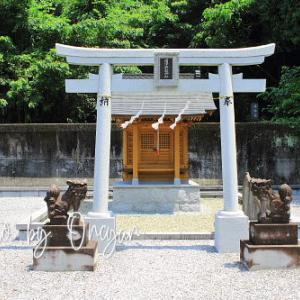 国澤将監神社 - はりまや橋の近くにあったとされる国澤城城主・國澤将監か