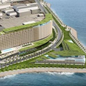 豊崎にインターコンチネンタルホテルができるらしい。
