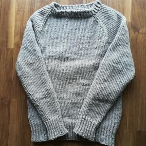 編み物 セーターに挑戦5