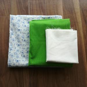 布の買い物