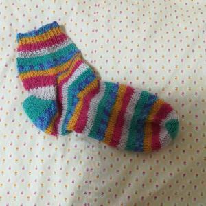 編み物 靴下5足目1