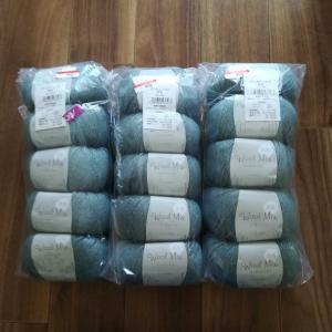 毛糸大量購入