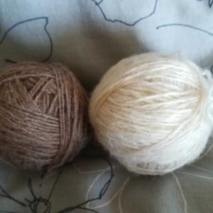 編み物 ほどいて編み直し ネックウォーマー