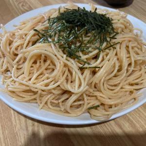 おうちde明太子スパゲティの私
