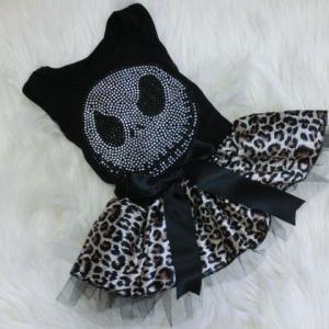 ハロウィン★スカル柄ドレス結構人気商品です