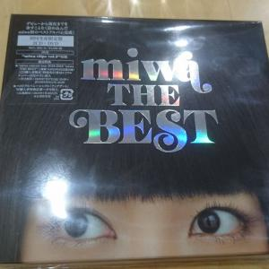 『miwa THE BEST』買っちゃった♪