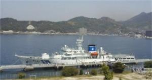 遠洋航海実習中の海保練習船「こじま」が、ハワイで行方不明者捜索。