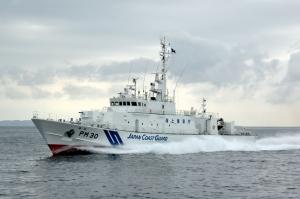 静岡県熱海市土石流災害、海上保安庁の対応。