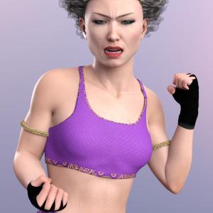 日本人の女子プロレスラーキャラクター「Kayo 8」が発売されました