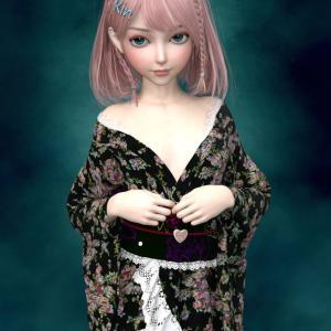 RinちゃんとPretty Kimonoを買いました