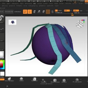 ZBrush が6.3にアップデートされて、ヘアカードを作成できるIMMブラシが追加されました