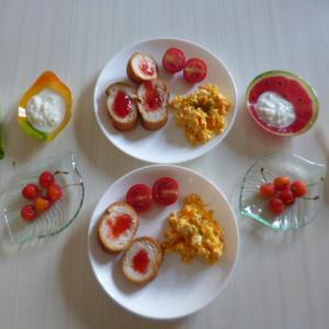 朝ご飯と6月権利初取得銘柄