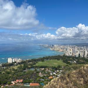 Hawaii 2020 travel ダイヤモンドヘッド WAIKIKI