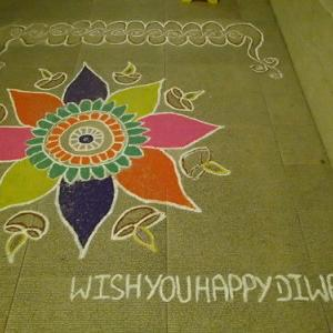 Wish You Happy Diwali !