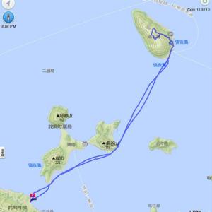 塩飽諸島カヤック 高見島でのプチsea-to‐summit!