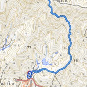 古鷹山トレッキング 朝のお散歩シーカヤックの後の山登り
