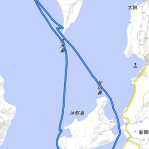 江田島シーカヤック  能美島から沖野島へのお散歩ツーリング
