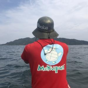 モクプニ漕ぎ練 あの島まで行ってみよう!