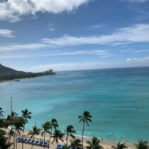 Aloha〜オワフ島1日目♪海が綺麗〜♪