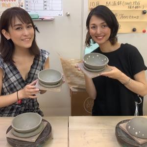 プロフィール、趣味に陶芸入ってます。