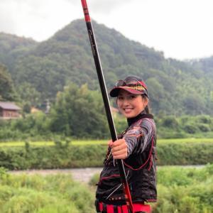 狩野川で鮎釣りなう♡