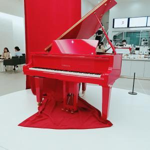 赤いピアノがあるカフェ-自動ピアノが聴けるカフェ